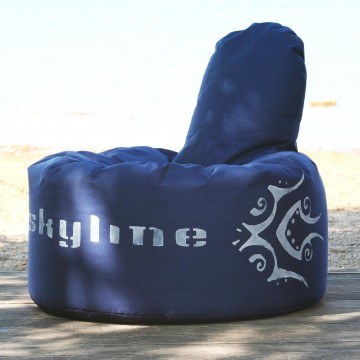 Skyline Sitzsack Beanbag royalblue